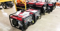 Complete Line of Honda Generators