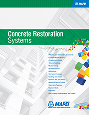 Mapei Concrete restorations Systems