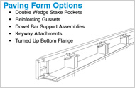 Paving Form Options