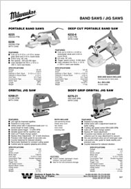Supplier & Distributor of Milwaukee Tool Products - NJ, PA, MD, VA