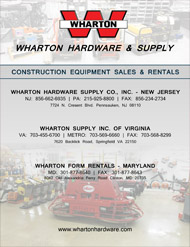 Wharton Equipment Catalog 2016
