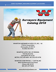 Wharton Survey Equipment Catalog